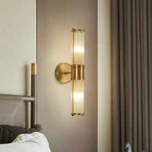 где купить Modern Copper Black Wall Lamp For Bedroom Bedside Lamp Living Room Aisle Wall Lamps Bathroom Wall Light Home Lighting Fixture по лучшей цене