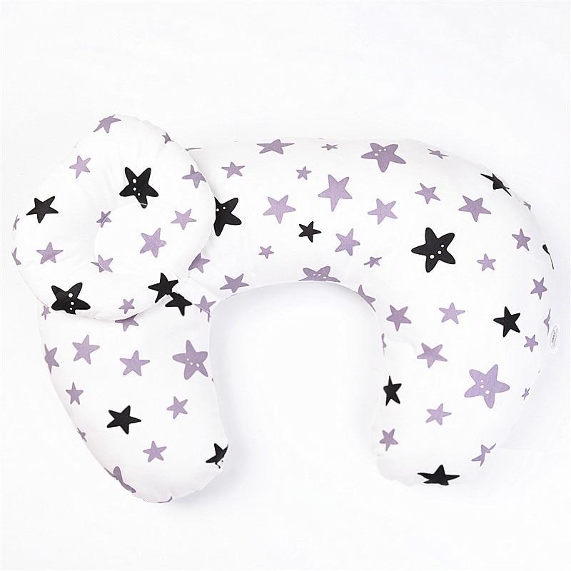 Adjustable Breastfeeding Pillow & Cover Feeding Waist Cushion Baby Newborn Maternity Nursing