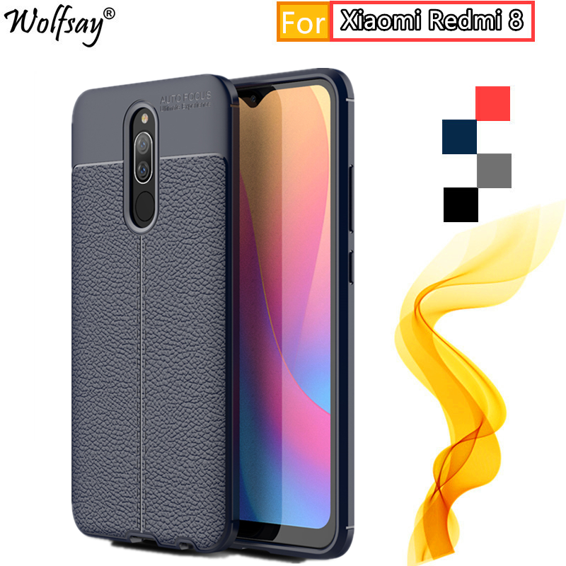 Phone Case For Xiaomi Redmi <font><b>8</b></font> Case Redmi <font><b>8</b></font> Redmi8 Rugged Shockproof Housings TPU Bumper Silicone Phone Cover For Xiaomi Redmi <font><b>8</b></font> image