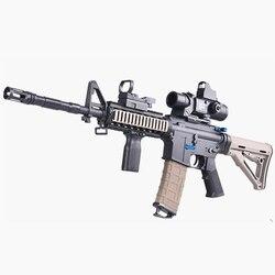 Страйкбольные пневматические пистолеты, Металлические Пластиковые пистолеты M416, водяной пистолет, CS Shooting Games, электрический пистолет, улич...