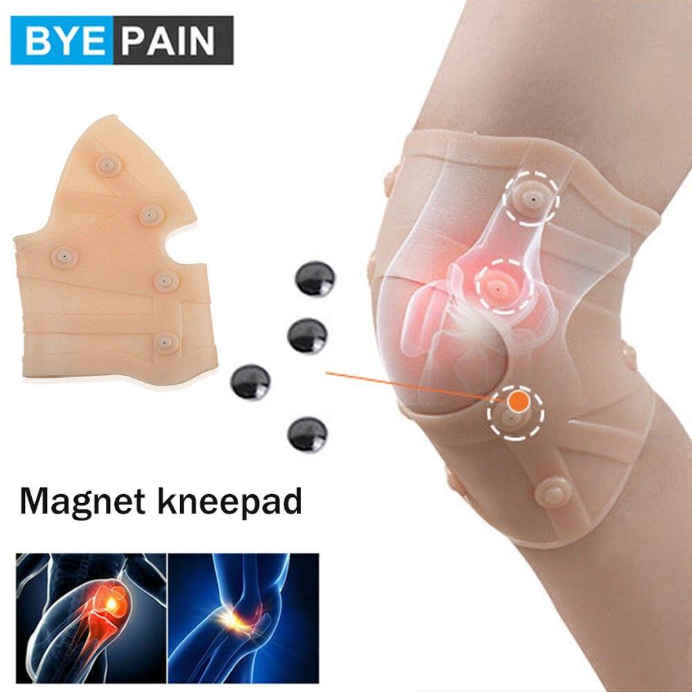 1 шт. компрессионный Противоскользящий коленный бандаж для боли в колене и поддерживает наколенники для бега, слезу мениска, облегчение бол...