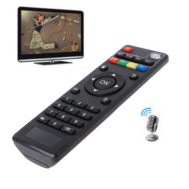 Reemplazo de Control remoto por IR para Android TV Box H96 pro +/M8N/M8C/M8S/V88/X96, 1 unidad