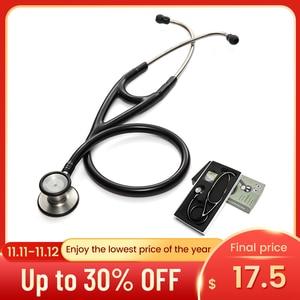 Image 1 - Professional Dual Head Stethoscope Cardiology Stethoscope Doctor Medical Stethoscope Doctor Medical Equipment Devices Nurse