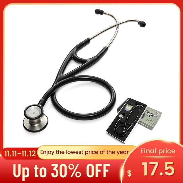 Professional Dual Head Stethoscope Cardiology Stethoscope Doctor Medical Stethoscope Doctor Medical Equipment Devices Nurse