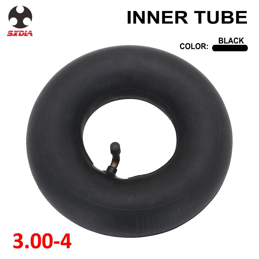 Motorcycle Size <font><b>3.00</b></font>-<font><b>4</b></font> Inch Inner <font><b>Tube</b></font> Bike Heavy Duty For Electric Scooters Tricycle Stroller Wheel Pit Bike image