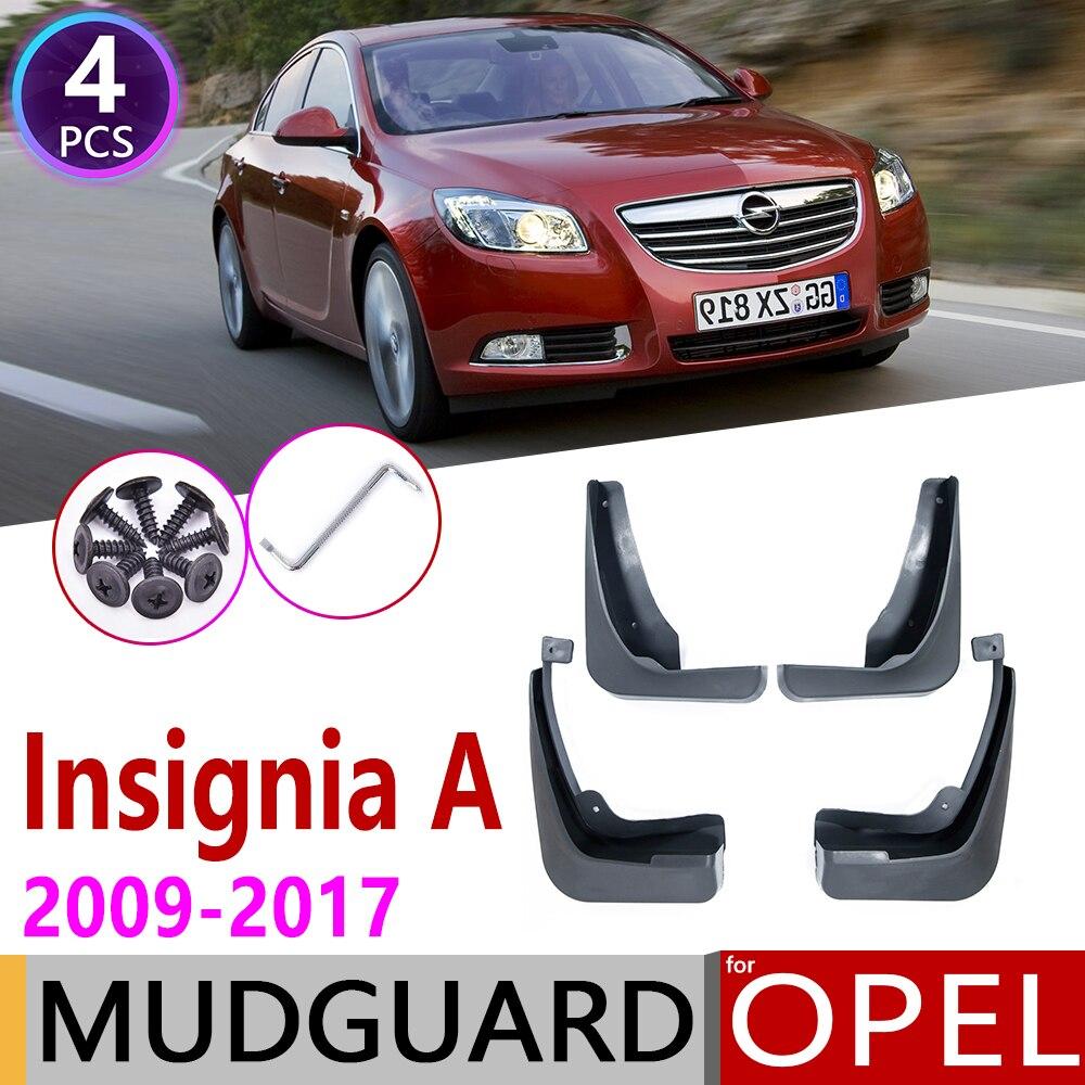 をオペルインシグニアのための 2009 〜 2017 MK1 Mudflaps フェンダー泥ガードスプラッシュフラップマッドガードアクセサリー Vauxhall Holden 2008 2009 2010