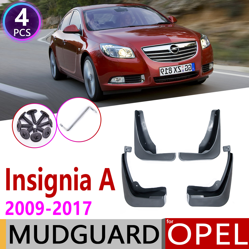 For Opel Insignia A 2009~2017 MK1 Mudflaps Fender Mud Guard Splash Flaps Mudguards Accessories Vauxhall Holden 2008 2009 2010