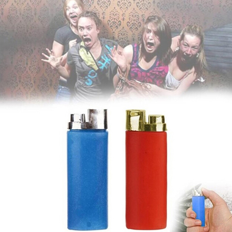 Kids Funny Party Trick Gag Gift Water Squirting Lighter Fake Lighter Joke Prank Trick Toy Random Color Baby Toys