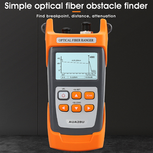 COMPTYCO AUA28U/28A Mini 60KM Fiber Optic OTDR Optical Fiber Reflectometer Built in VFL with FC SC Touch