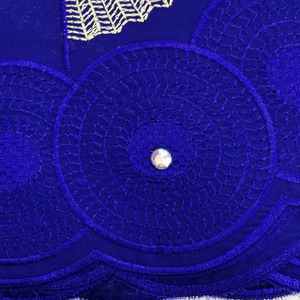 Image 3 - Tecido de renda seco tecido de renda para vestidos de casamento tecido de voile suíço de algodão