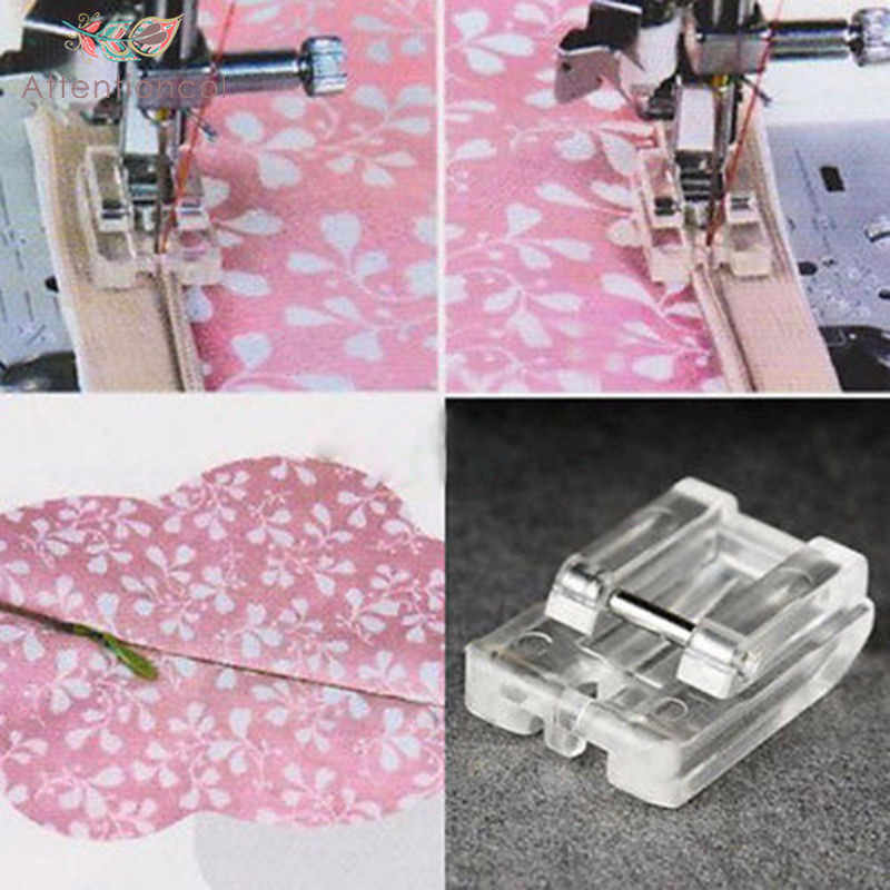 1pcs Sewing Machine Parts Presser Foot Invisible Zipper Foot Plastic for singer brother white janome juki toyota 601