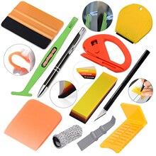 EHDIS – Kit doutils dapplicateur de vinyle, raclette en caoutchouc demballage de Film de voiture, raclette de verre, teinte daquarium, grattoir de nettoyage, dissolvant dautocollant