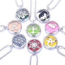 цена на Aromatherapy Jewelry Perfume Aroma Necklace Diffuser Pendant Essential Oil Diffuser Pendant Diffuser Essential oil necklace