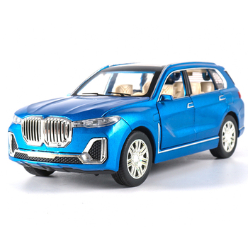 1:24 Scale Simulation X7 SUV Car Model Diecasts Vehicles Toys Alloy Auto Speelgoed With Hot Pull Back Wheels Car Toy For Kids image