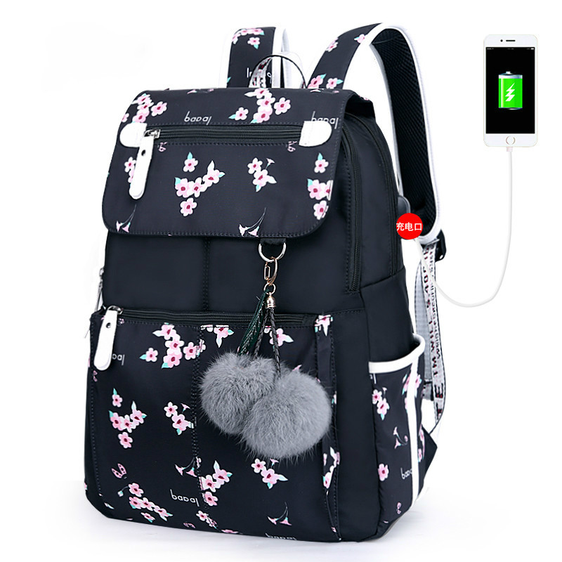 Kids Backpack Waterproof Bagpack Girl School Bag For Teenagers Junior High School Student Mochila Escolar Feminina