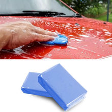 100g de lavado de coche de barro de limpieza mágica barra de la arcilla para la magia detallado de coches limpieza arcilla cuidado al detalle de pintura de mantenimiento