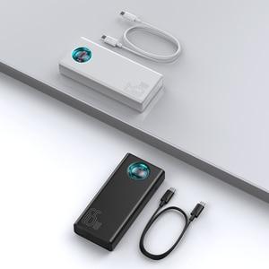 Image 5 - Baseus 전원 은행 30000 미리 암 페르 하우어 65 와트 PD3.0 빠른 충전 3.0 FCP SCP 휴대용 외부 배터리 여행 충전기 전화 노트북 태블릿
