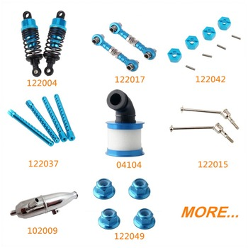 HSP XSTR POWER Upgrade Parts Aluminum for RC 1/10 Scale Nitro Power Advanced On Road Car 94122 Alloy Spare Replacement image