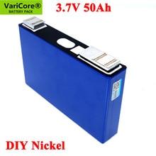 VariCore 3.7V 50Ah Ternary lithium battery for 3s 12V 24V 10s 36V 48V 50000mAh Electric bicycle batteries modification Nickel