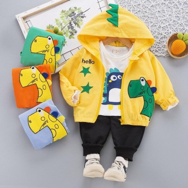 Next Baby's Cute Plush Vest, Sweatshirt and Pants 3 Pcs Set 5