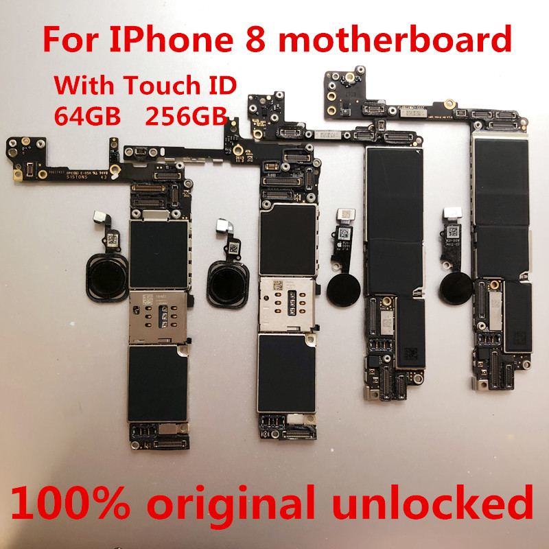 iPhone for 8 64GB Unlocked 100%Original with Touch-Id--Tool Gift Logic title=