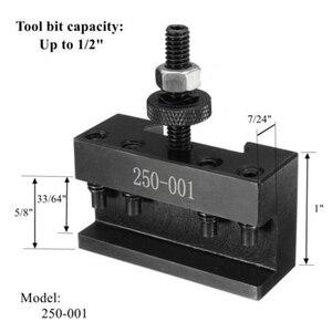 Image 3 - Promotion! 1 Set Steel Tool Post Set Universal Parting Blade Tool Holder For Mini Lathe