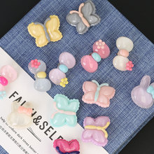 Children Buttons for Clothing Cute Acryl Plastic Button Sew on Clothes Kids Bag DIY Garment Sewing Accessories Scrapbooking hl 18x15mm 50 100pcs mix color fish shank plastic buttons children s garment sewing accessories diy crafts