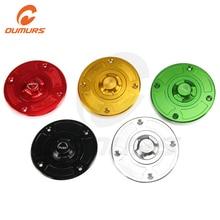 OUMURS אופנוע CNC Keyless טנק דלק גז כובעי עבור סוזוקי GSF1200 600F GSXR600 750 1000 SV650 TL1000S R קטאנה 600 750 GSF1200
