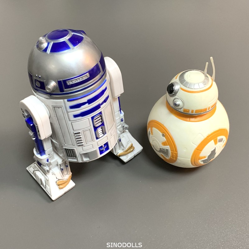 Star Wars Force Awakens R2D2 & BB8 Droid 6