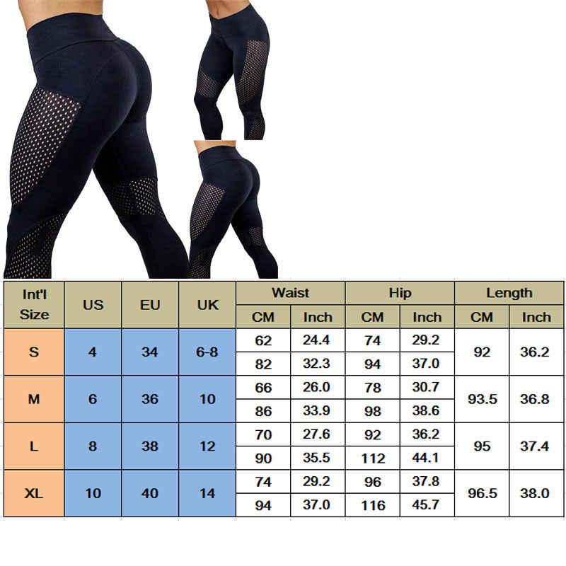Mode Heiße Hohe Taille Yoga Gym Hosen Frauen Fitness Legging Sport Patchwork Joggings Leggings Yoga Hosen