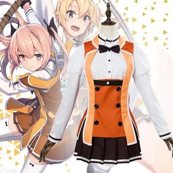 Anime Comic Katana doncellas Toji no Miko Cosplay disfraces Mashiko Kaoru Cosplay traje uniformes trajes de ropa vestidos