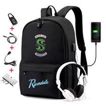 Imido riverdale стильные рюкзаки для школьников школьная сумка