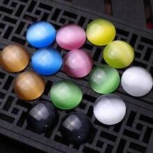 6 шт/лот бусины из натурального камня кабошон 18 мм круглые