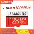 SAMSUNG EVO Plus 32 Гб 64 Гб U1 карта памяти 128 ГБ 256 ГБ 516 Гб micro sd U3 Class10 MicroSD для смартфона TabletPC 100% оригинал
