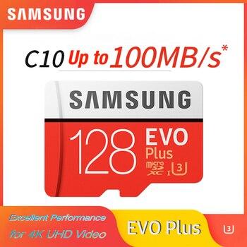 SAMSUNG EVO Plus 32GB 64G U1 memory card  128Gb 256Gb 516Gb micro sd U3 Class10  MicroSD  for Smartphone TabletPC 100% Original