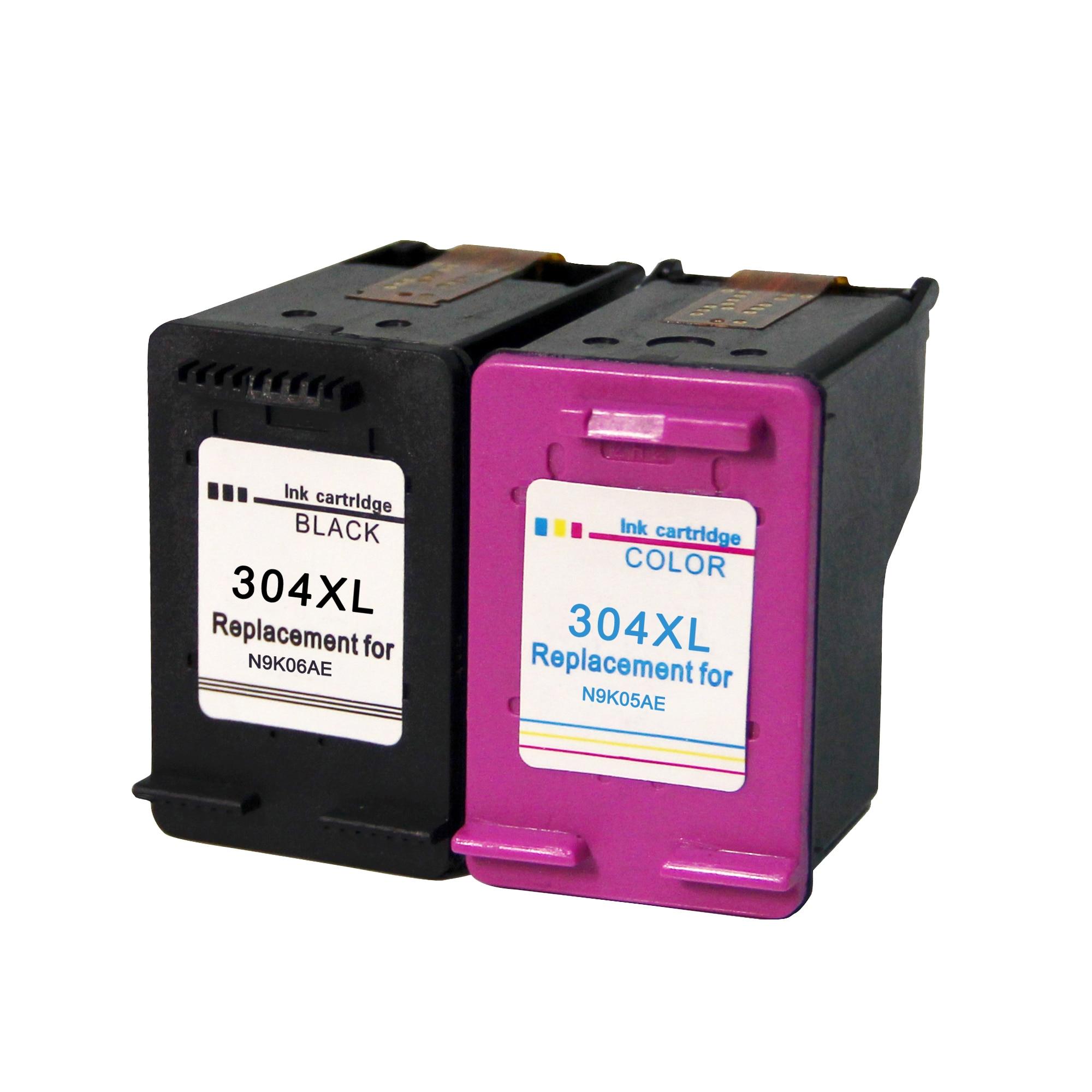 תואם עבור HP 304 מחסנית דיו החלפת HP304 XL עבור HP Deskjet 3720 3730 3732 3733 3735 3750 3755 3760 3762 מדפסת