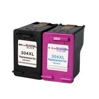 Nova versão compatível para hp 304 substituição do cartucho de tinta para hp304 deskjet 2600 3720 5000 envy 5030 5032|Cartuchos de tinta| |  -