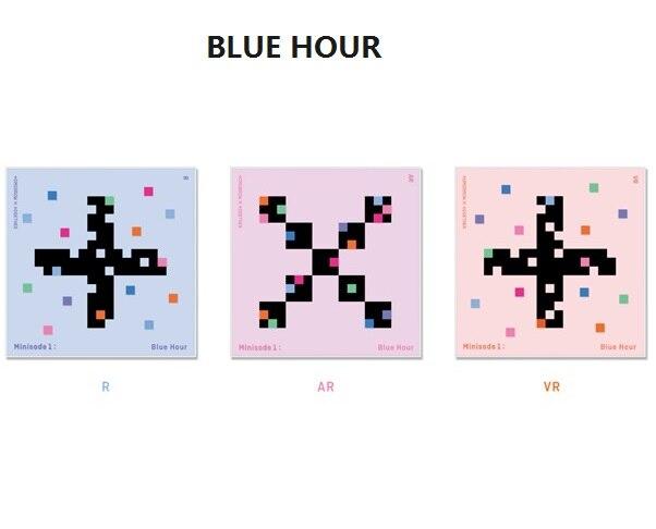 [MYKPOP]~ 100% Официальные Товары ~ TXT minisode 1: набор альбомов с синими часами, CD фотокнига, коллекция фанатов KPOP SA20120701