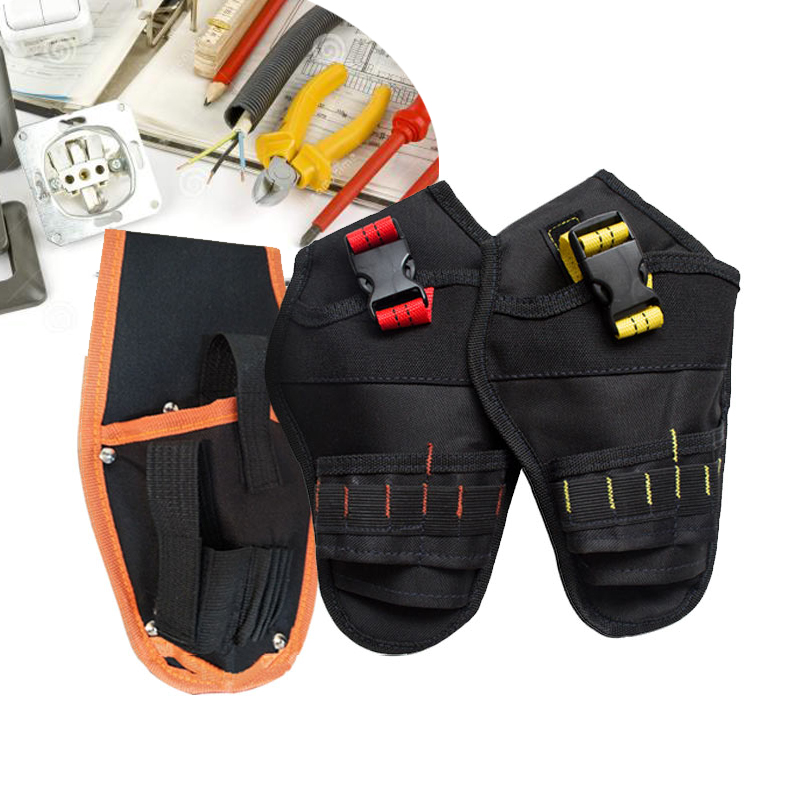 Urijk Tool Bags Tools Belt Electrician Bags For Tools Pouch Bag Waist Belt Organizer Durable Hardware Toolkit Multi-color Bags