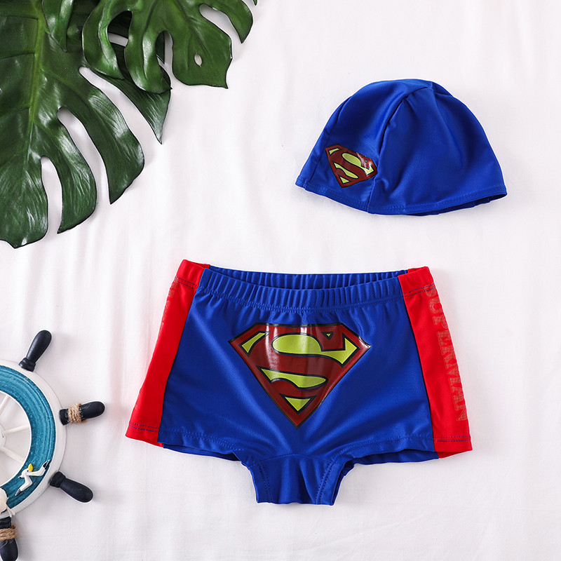 CHILDREN'S Swimming Trunks Sub-BOY'S Boy 1-3 Years Old Swimming Trunks South Korea Baby Swimming Suit Cartoon Small CHILDREN'S C