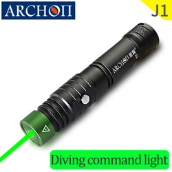 J1, Mando de buceo, luces láser profesionales, luces láser verdes de buceo bajo el agua 100m, instructor de buceo, Comando de buceo