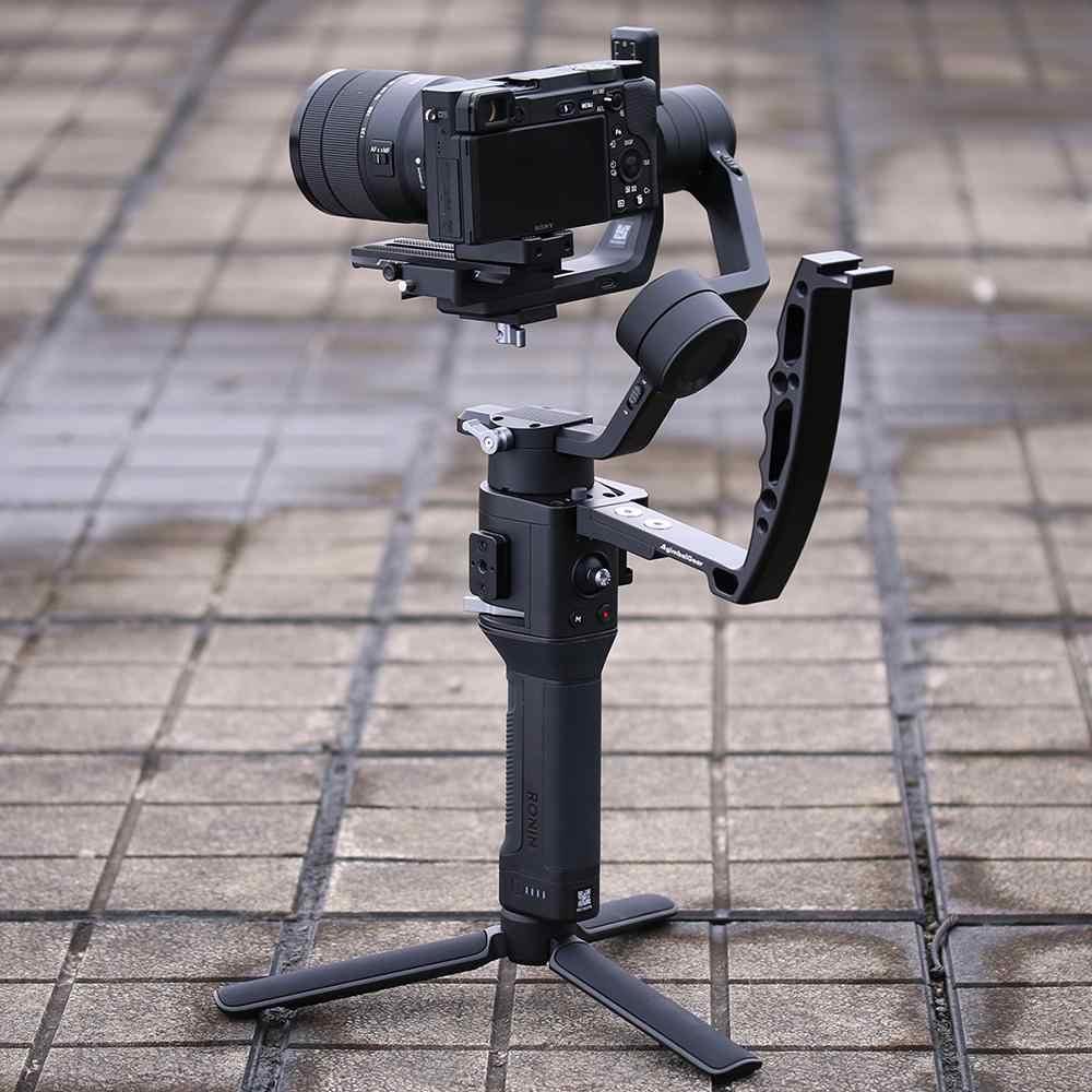 Pro Video Stabilizing Handle Grip for HP Photosmart R817 Vertical Shoe Mount Stabilizer Handle