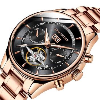 2018 Sport Watches Men Luxury Top Brand New Fashion Men's Big Designer Automatic Mechanical Male Wristwatch relogio masculino