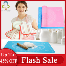 Dough-Pad Bakeware-Liners Pastry Baking-Mat Kneading Silicone Rolling-Scale 1 1PC Thickening-Flour