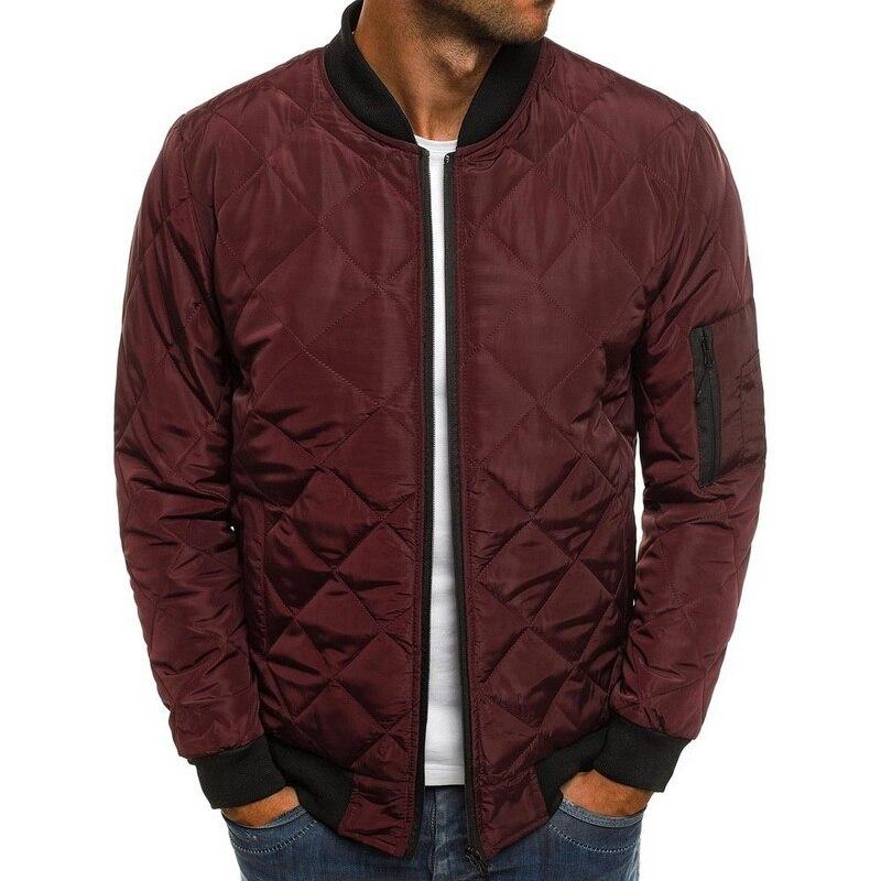 Hed8309e0baa343728aab64312c5f6371h 2019 Autumn Winter Jacket Men Warm Coats Streetwear New Male Lightweight Windproof Packable Jacket hip hop baseball Coat Outwear