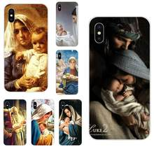 Virgin Mary Christian Christmas Jesus For Galaxy Alpha Note 10 Pro A10 A20 A20E A30 A40 A50 A60 A70 A80 A90 M10 M20 M30 M40(China)