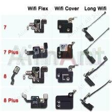 Antena de señal GPS para iPhone 7, 8 Plus, Wifi, Bluetooth, NFC, Cable flexible, piezas de repuesto para reparación