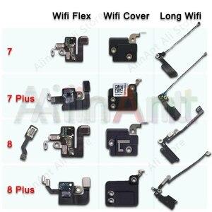 Image 1 - Orijinal için iPhone 7 8 artı Wifi Bluetooth NFC WI FI GPS sinyal anten Flex kablo kapağı yedek onarım yedek parça