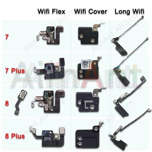 Orijinal için iPhone 7 8 artı Wifi Bluetooth NFC WI FI GPS sinyal anten Flex kablo kapağı yedek onarım yedek parça