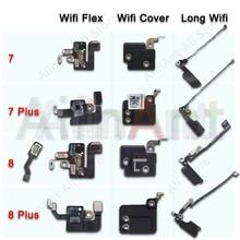מקורי עבור iPhone 7 8 בתוספת Wifi Bluetooth NFC WI FI GPS אות אנטנה להגמיש כבל כיסוי תיקון החלפת חלקי חילוף